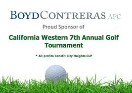 California Western Annual Golf Tourny